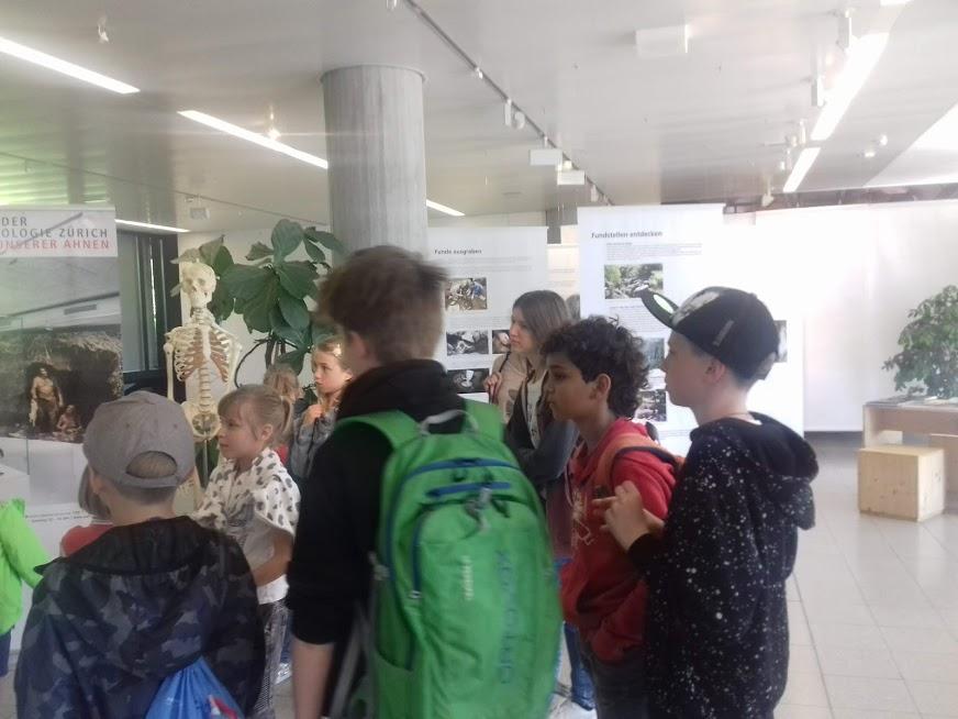 Экскурсия в антопологический музей